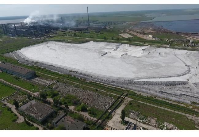 Завод «Титан» у Армянську зупинив роботу через викид хімічних речовин