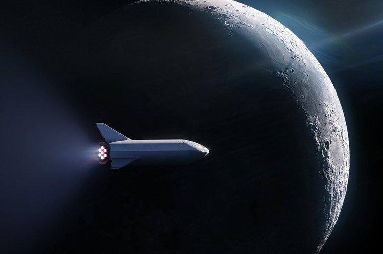 Перший пасажир забронював собі місце на політ навколо Місяця у SpaceX