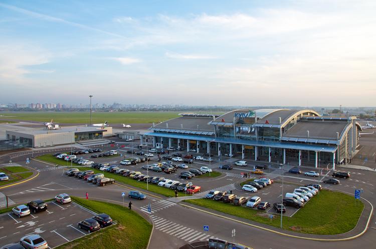 Міжнародний аеропорт «Київ» обслужив 2 млн пасажирів з початку року