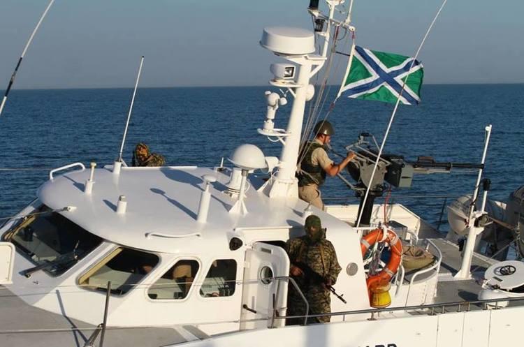 Озброєні російські прикордонники влаштували провокацію в Азовському морі (ФОТО,ВІДЕО)