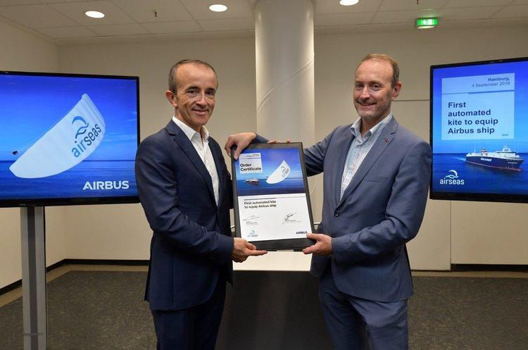 Airbus починає оснащувати кораблі розумними вітрилами