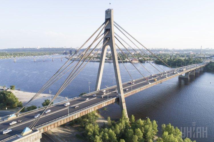 Рух Північним мостом у Києві буде обмежено протягом місяця