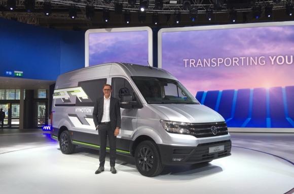 Volkswagen показала свій концепт водневого вантажного фургону