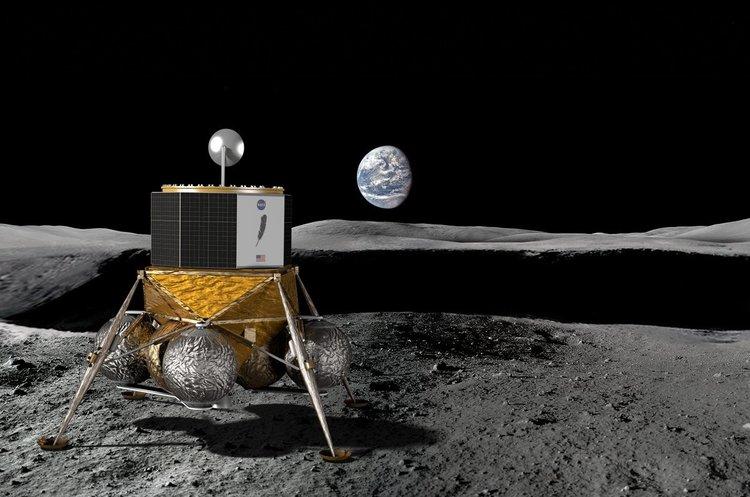 Blue Origin розпочала розробку великого місячного посадкового модулю