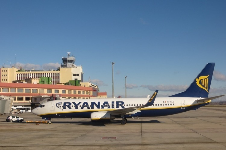 Пасажири Ryanair не отримають компенсацію через страйк пілотів авіакомпанії