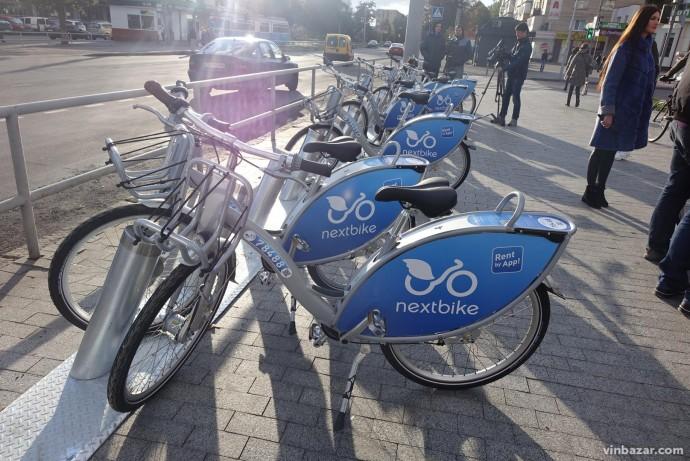 Вінниця отримала муніципальний велопрокат