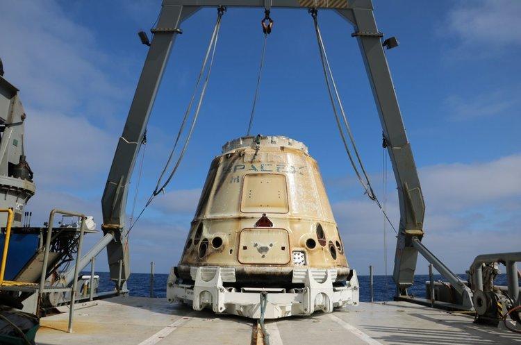 SpaceX відправить перших астронавтів на МКС у червні 2019 року