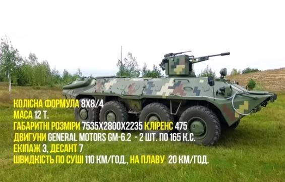 «Укроборонпром» похизувався оновленим БТР-70 (ВІДЕО)