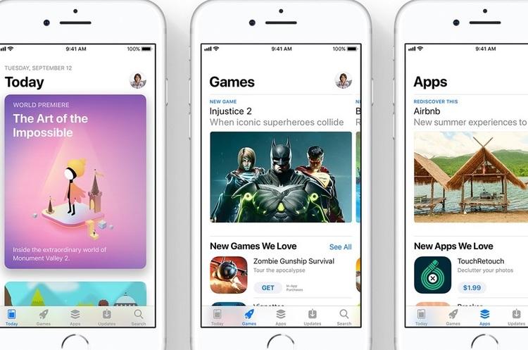 AppStore за ІІІ квартал заробив на 94% більше, ніж Google Play