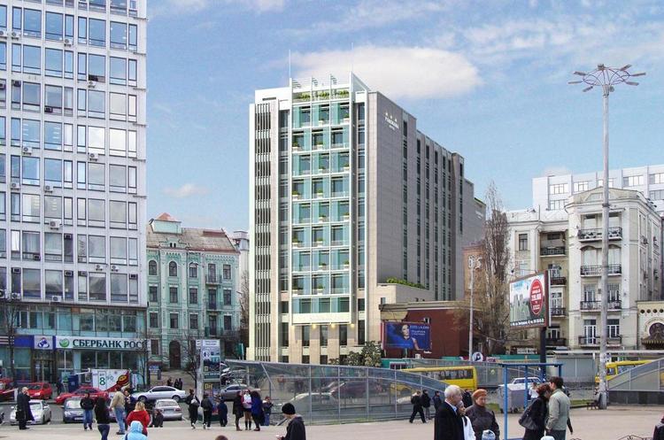 Проект забудови на місці кінотеатру «Кінопанорама» передбачає зведення 9-поверхового готелю