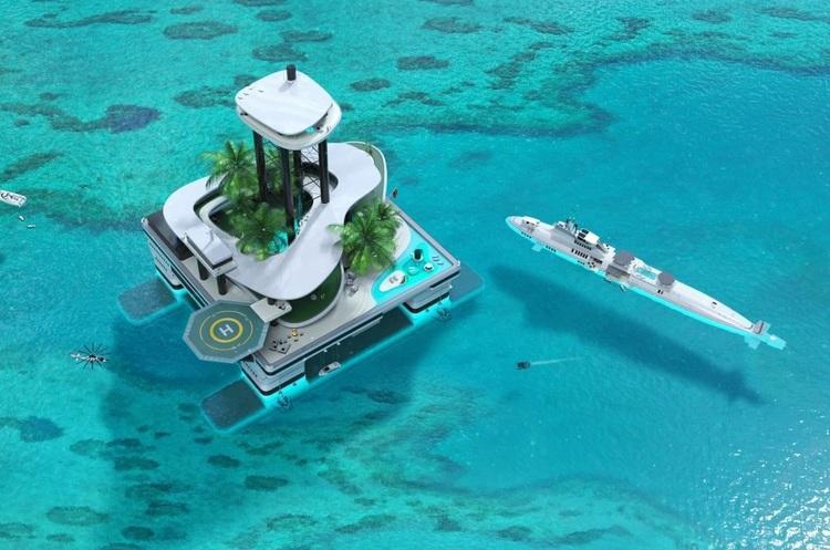 Скоро в продажу з'являться приватні пересувні острови