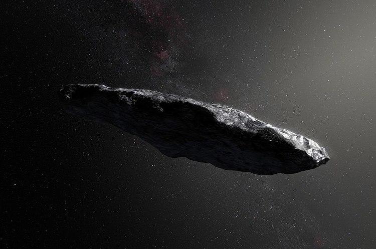 Вчені припускають, що міжзірковий об'єкт Оумуамуа є інопланетним космічним кораблем