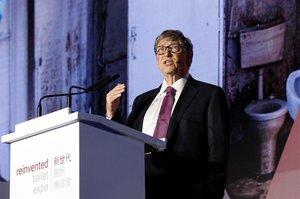 Білл Гейтс представив у Китаї туалет, для якого не потрібна вода