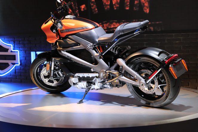 Harley-Davidson показала прототип свого першого електромотоцикла LiveWire