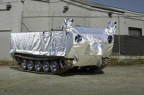 У Каліфорнії розробили безпілотний танк для гасіння лісових пожеж