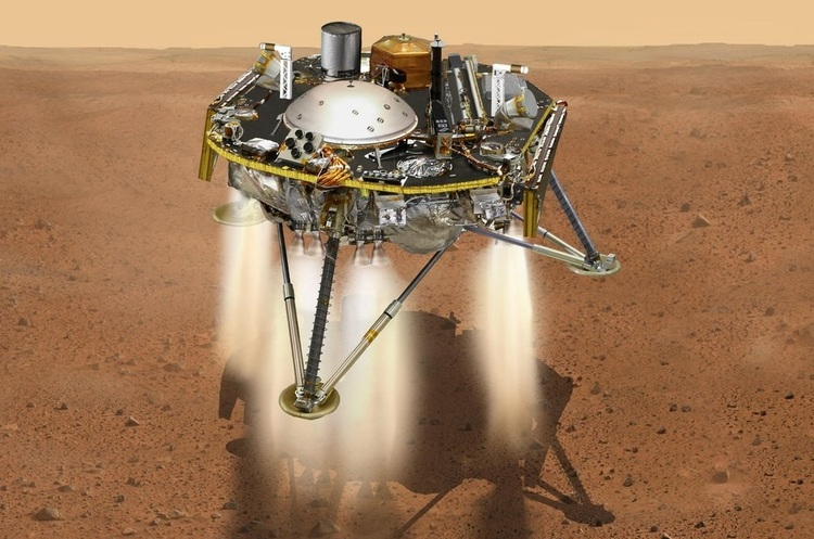 Зонд вартістю $850 млн приземлився наМарс— Трансляція NASA