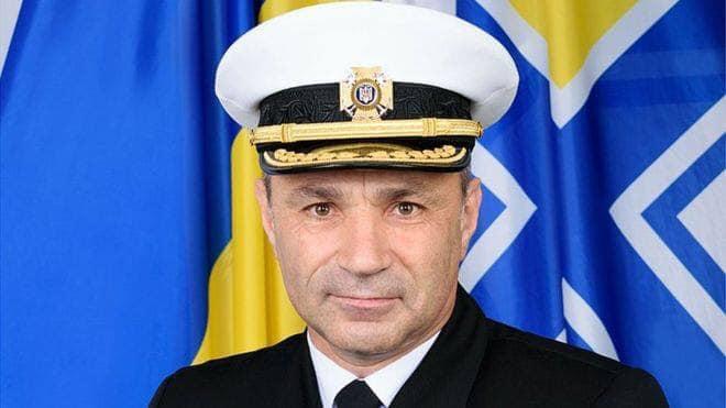 Глава ВМС України запропонував себе в обмін на полонених українських моряків