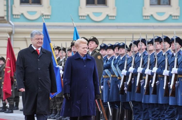 Даля Грібаускайте: «Ми відкрито заявляємо про воєнну підтримку Україні»