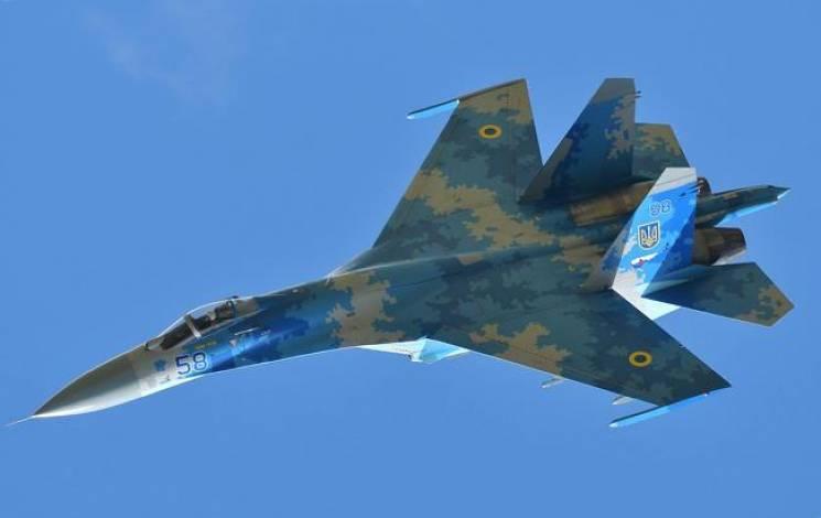 На Житомирщині розбився винищувач Су-27, пілот загинув