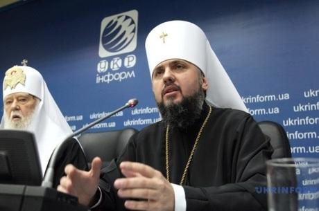 Епіфаній назвав кількість парафій і кафедральний собор Православної церкви України