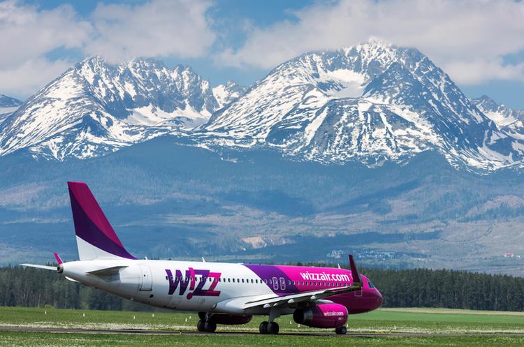 Wizz Air оголосив знижку 20% на майже усі рейси з України