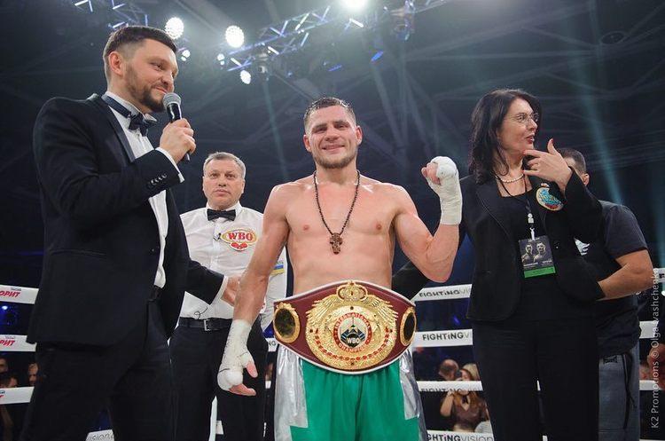 Українець Беринчик після перемоги над філіппінцем здобув титул чемпіона WBO