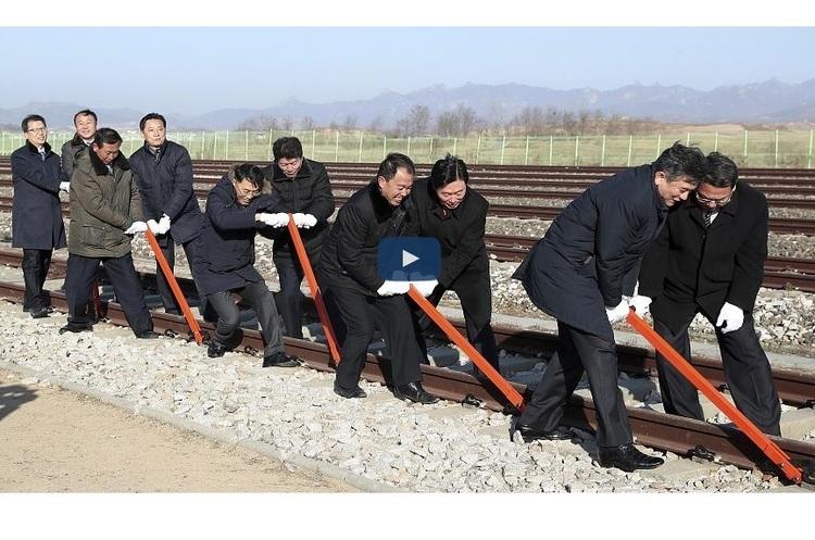 Північна і Південна Корея відновлюють спільну залізницю, зруйновану в часи війни