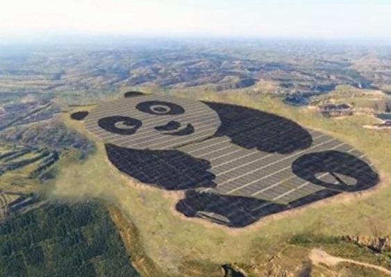 У Китаї введено в експлуатацію «найсимпатичнішу в світі» електростанцію