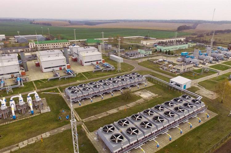 Україна зменшила запаси газу в ПСГ до 13,885 млрд куб. м наприкінці грудня 2018 року