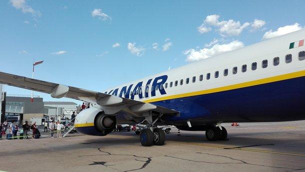 Авіакомпанія Ryanair припинила продаж квитків на новий напрямок із Києва