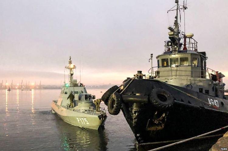 Росія допускає обмін полонених моряків