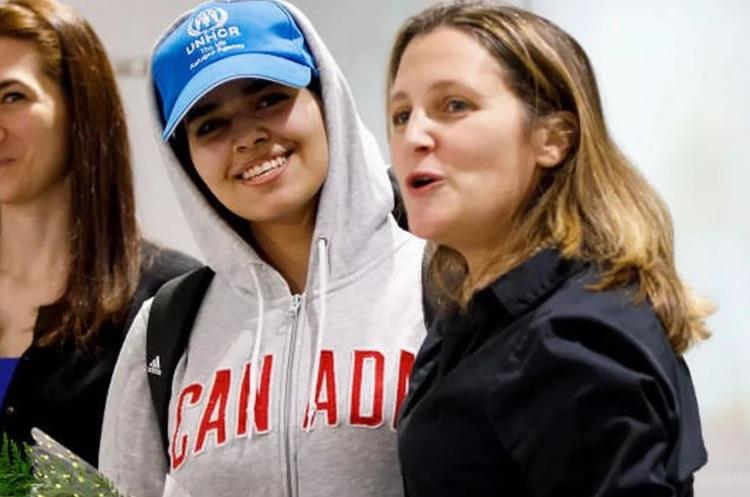 Канада надала притулок дівчині, яка втекла із Саудівської Аравії