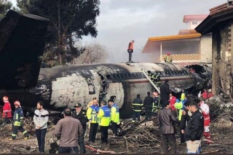 В Ірані розбився вантажний літак, який перевозив 30 тонн м'яса
