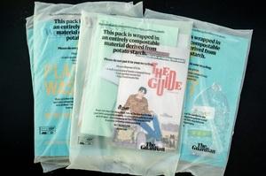 The Guardian відмовляється від пластикової упаковки і переходить на крохмаль