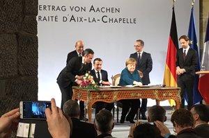 Німеччина та Франція підписали новий договір про дружбу
