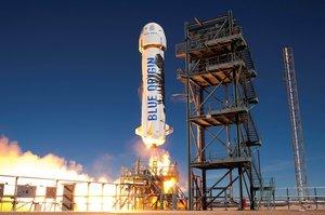 Blue Origin сьогодні запустить свій суборбітальний корабель New Shepard