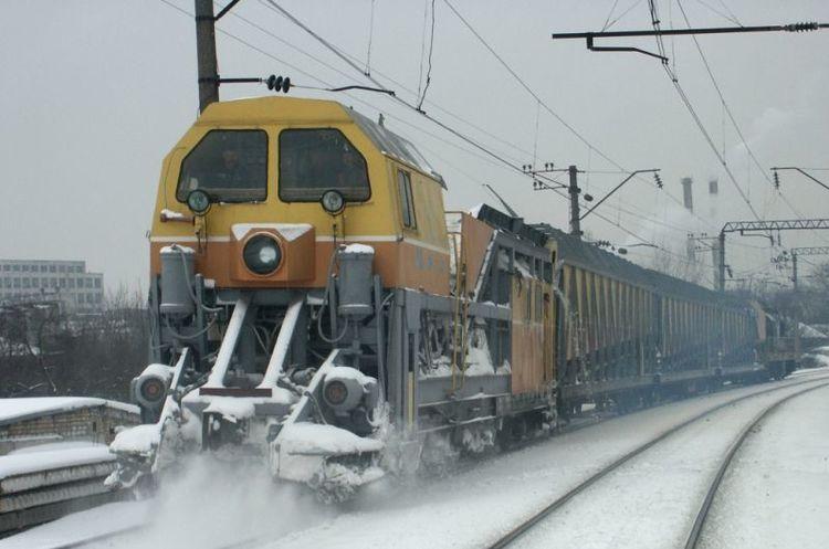 Снігопад не вплинув на роботу «Укрзалізниці»