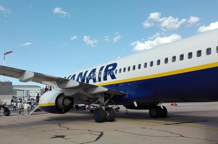 Ryanair  знову розпродає квитки до Європи від 9,9 євро в один бік