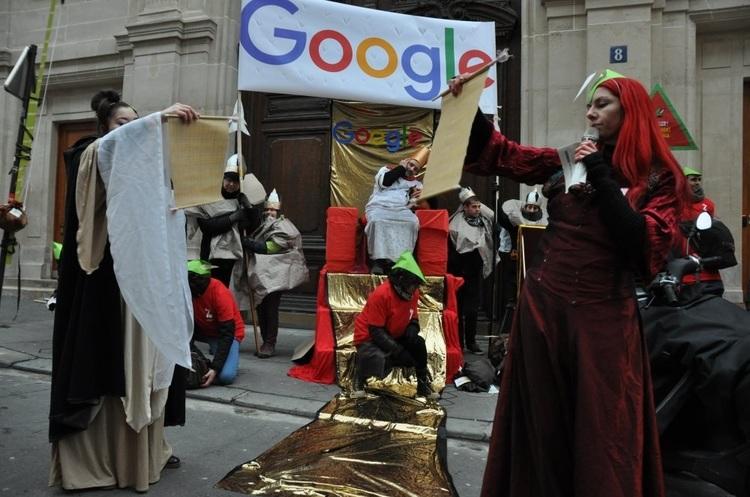 У Парижі офіс Google пограбували «Робін Гуди»