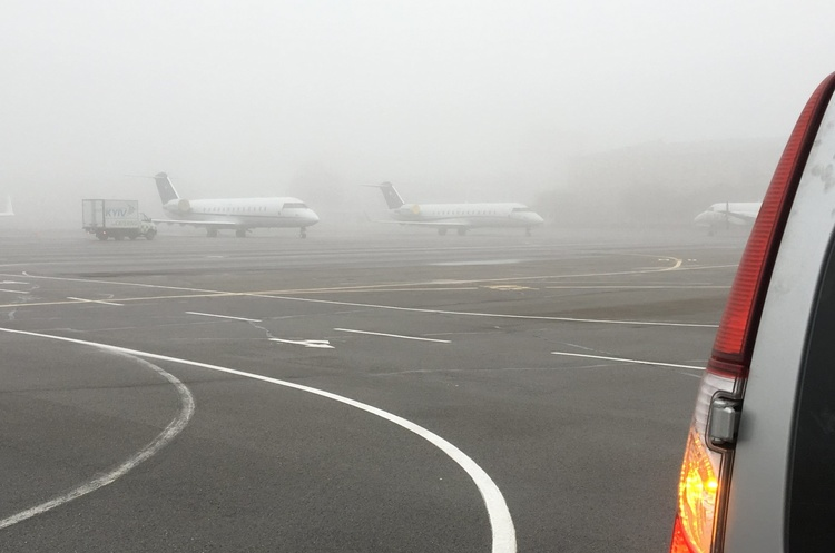 Аеропорт Київ повідомив про скасування рейсів 1 лютого 2019 року