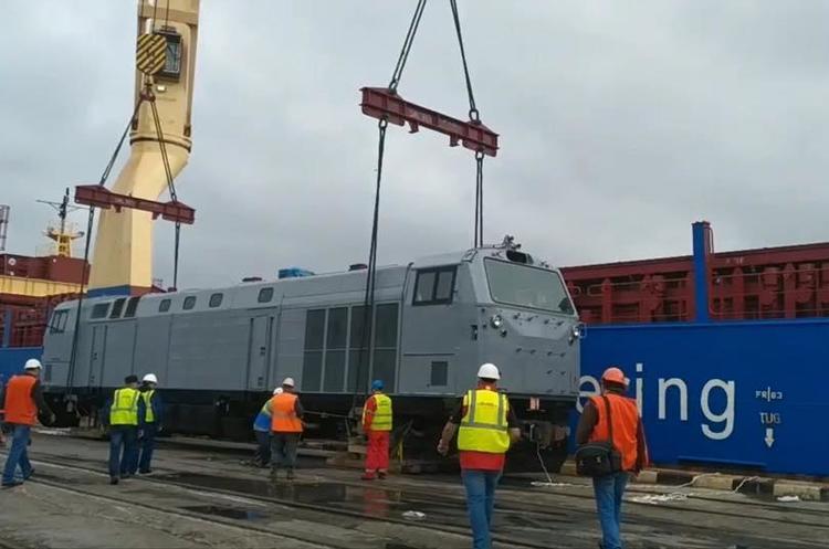 «Укрзализныця» получила все 30 локомотивов General Electric
