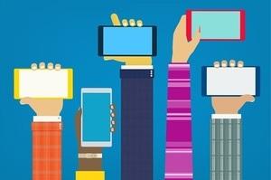 Ринок смартфонів продовжує падати п'ятий квартал поспіль