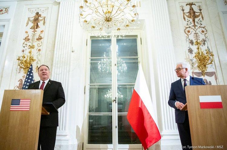 Польща та США спільно виступили проти «загрозливого» «Північного потоку – 2»