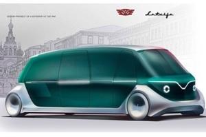 Латвійський мікроавтобус «Рафік» можуть відродити у сучасному дизайні (ФОТО)