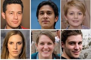 Штучний інтелект навчився створювати обличчя людей, яких не існує