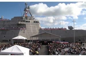 До складу військово-морських сил США увійшов «корабель-невидимка» (ВІДЕО)