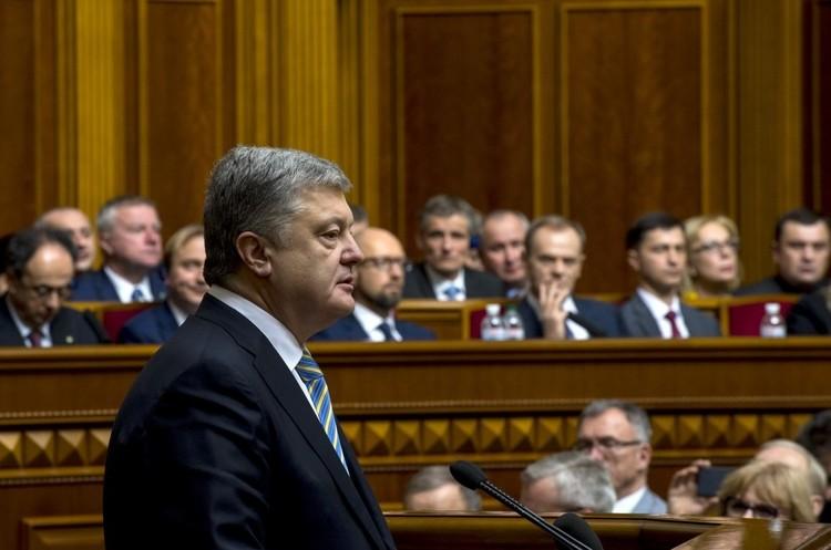 Порошенко: «Росія практично програла війну в Україні»