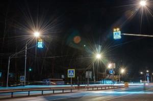 12 пішохідних переходів Києва обладнали сенсорним освітленням