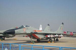 Індія закупить в Росії щонайменше 21 винищувач МіГ-29