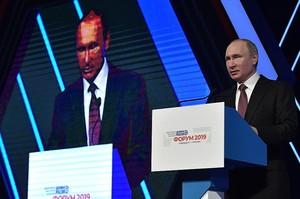 Путін пообіцяв асиметричну відповідь на розгортання Америкою ракет у США